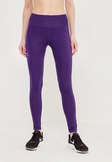 Купить Тайтсы Salomon - цвет: фиолетовый, Камбоджа, SA007EWZOS74