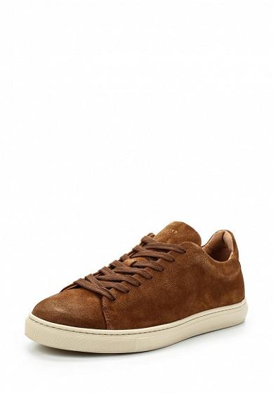 Купить Кеды Selected Homme - цвет: коричневый, Португалия, SE392AMAFUD7