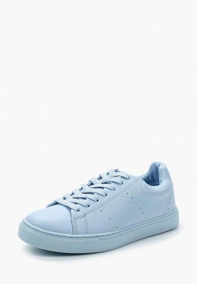 Купить Кеды Springfield - цвет: голубой, Китай, SP014AWAILH9