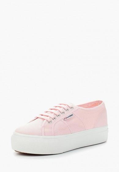 Купить Кеды Superga - цвет: розовый, Вьетнам, SU014AWAVIH2