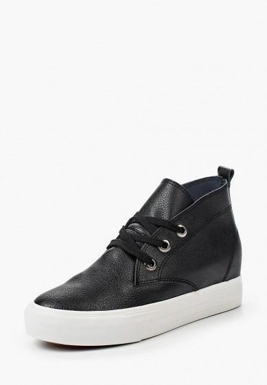 Купить Кеды на танкетке Sweet Shoes - цвет: черный, Китай, SW010AWRBS21