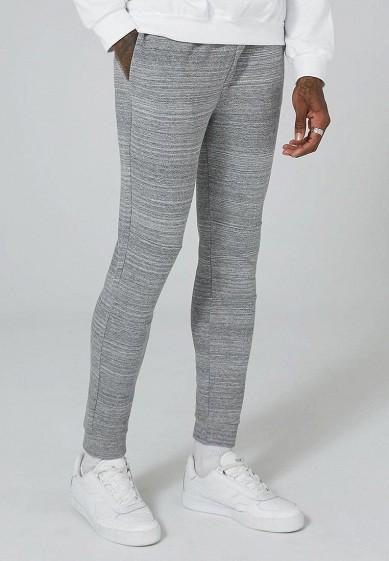 Купить Брюки спортивные Topman - цвет: серый, Турция, TO030EMZVG57