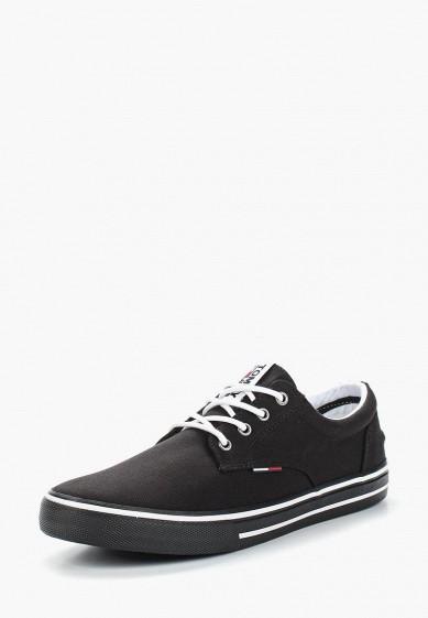 Купить Кеды Tommy Jeans - цвет: черный, Китай, TO052AMAGAP2