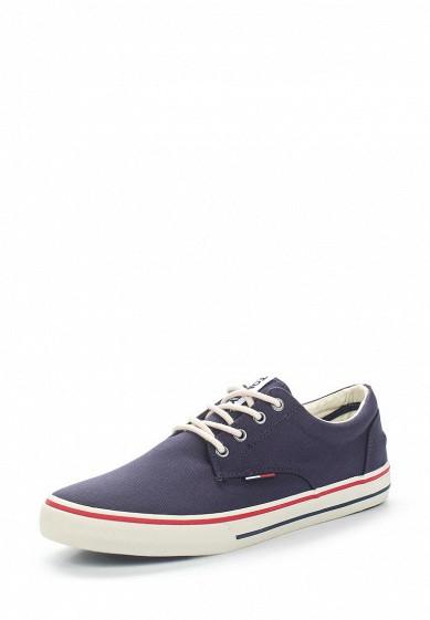 Купить Кеды Tommy Jeans - цвет: синий Китай TO052AMAGAP7