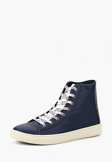 Купить Кеды Tommy Jeans - цвет: синий, Вьетнам, TO052AMBHPU5