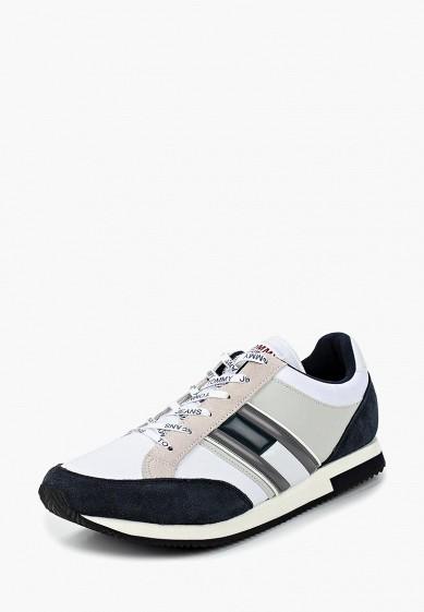 Купить Кроссовки Tommy Jeans - цвет: белый, Вьетнам, TO052AMBHPX6