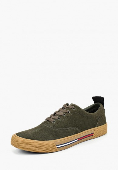 Купить Кеды Tommy Jeans - цвет: зеленый, Вьетнам, TO052AMBHPX8