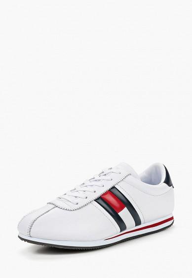 Купить Кроссовки Tommy Jeans - цвет: белый, Вьетнам, TO052AMBHPY4