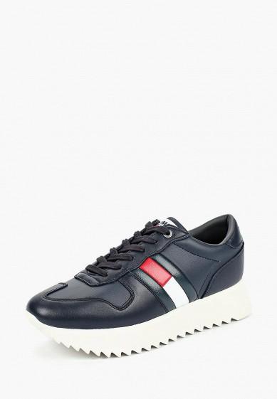 Купить Кроссовки Tommy Jeans - цвет: синий, Вьетнам, TO052AWBHQL9