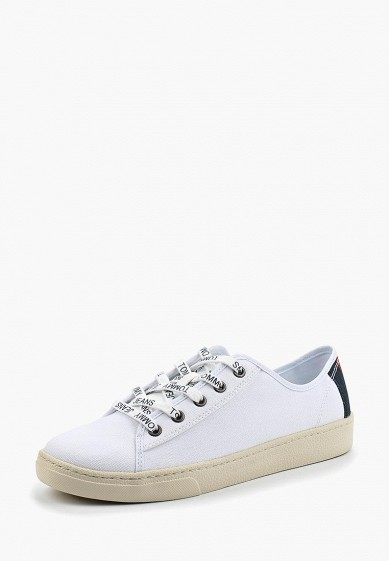 Купить Кеды Tommy Jeans - цвет: белый, Вьетнам, TO052AWBHQO0