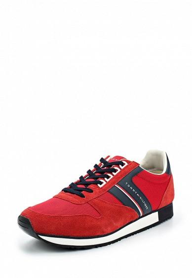 Купить Кроссовки Tommy Hilfiger - цвет: красный Вьетнам TO263AMAGBO4