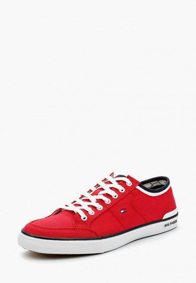 Купить Кеды Tommy Hilfiger - цвет: красный, Китай, TO263AMAGBP1