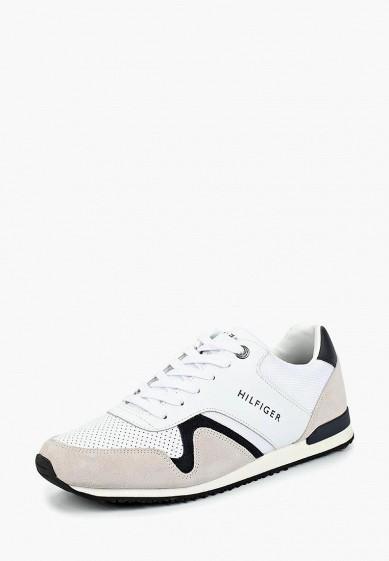 Купить Кроссовки Tommy Hilfiger - цвет: белый, Вьетнам, TO263AMBHPS7