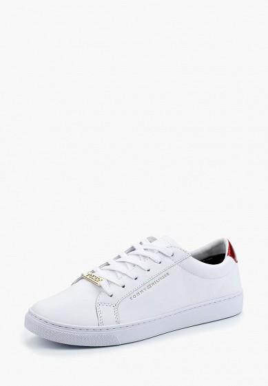 Купить Кеды Tommy Hilfiger - цвет: белый, Вьетнам, TO263AWBHQW2