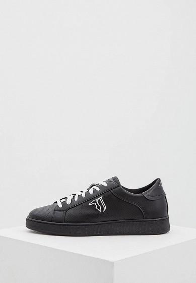 Купить Кеды Trussardi Jeans - цвет: черный Италия TR016AMYXK50