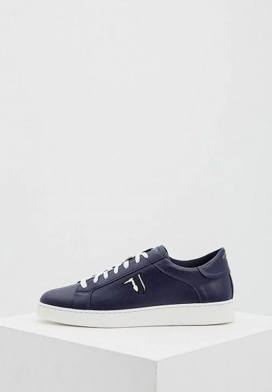 Кеды Trussardi Jeans - цвет: синий Италия TR016AMYXK51  - купить со скидкой