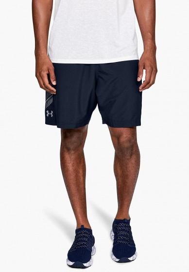 Купить Шорты спортивные Under Armour - цвет: синий, Индонезия, UN001EMBVDB3