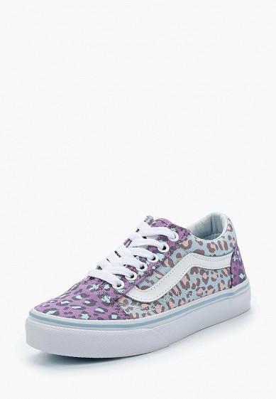 Купить Кеды Vans - цвет: фиолетовый, Швейцария, VA984AGAMIX3