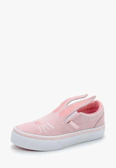 Купить Слипоны Vans - цвет: розовый, Вьетнам, VA984AGAMIX7