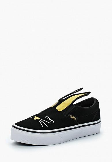 Купить Слипоны Vans - цвет: черный, Вьетнам, VA984AGAMIX8