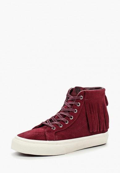 Купить Кеды Vans - цвет: бордовый, Китай, VA984AGJUY52