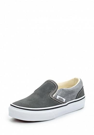 Купить Слипоны Vans - цвет: серый, Камбоджа, VA984AKWLK29