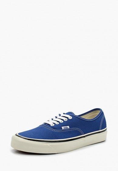 Купить Кеды Vans - цвет: синий, Швейцария, VA984AMAJYC4