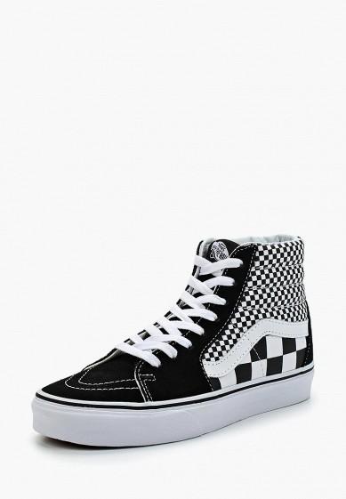 Купить Кеды Vans - цвет: черный, Швейцария, VA984AUAJYE6