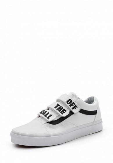 Купить Кеды Vans - цвет: белый Швейцария VA984AUAJYE8