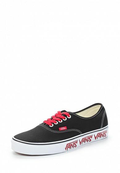 Купить Кеды Vans - цвет: черный Швейцария VA984AUAJYF1