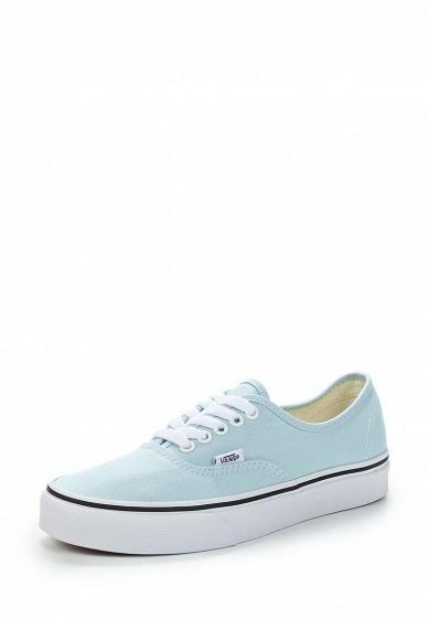 Купить Кеды Vans - цвет: голубой, Швейцария, VA984AUAJYF2