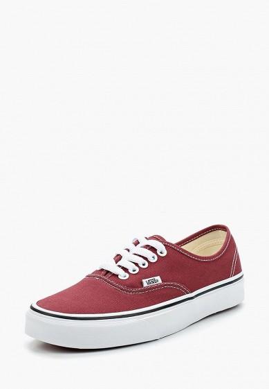 Купить Кеды Vans - цвет: бордовый, Швейцария, VA984AUAJYF4