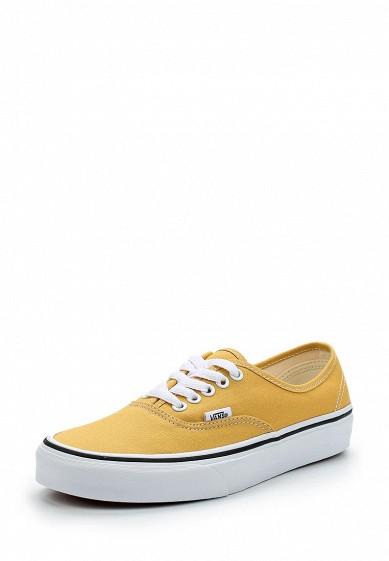 Купить Кеды Vans - цвет: желтый, Швейцария, VA984AUAJYF6