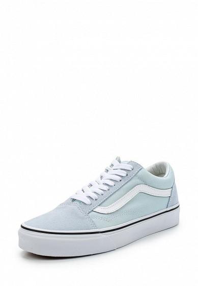 Купить Кеды Vans - цвет: голубой Швейцария VA984AUAJYG2