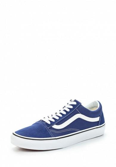 Купить Кеды Vans - цвет: синий, Швейцария, VA984AUAJYG5