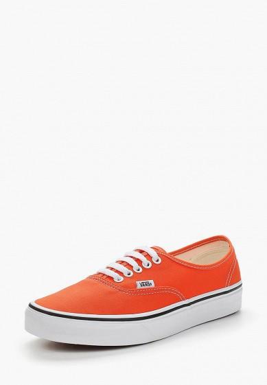 Купить Кеды Vans - цвет: оранжевый, Камбоджа, VA984AUAJYG8