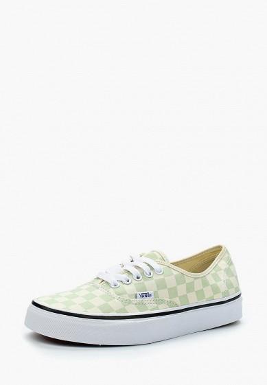 Купить Кеды Vans - цвет: зеленый, Мексика, VA984AUAJYH1