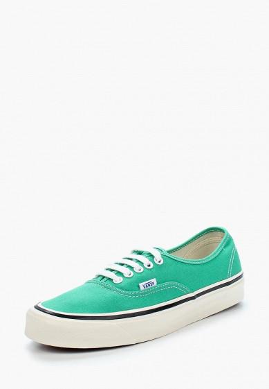 Купить Кеды Vans - цвет: зеленый, Филиппины, VA984AUAJYI1