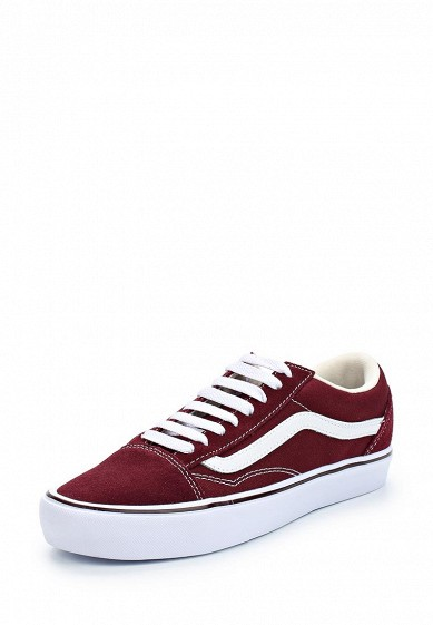 Купить Кеды Vans - цвет: бордовый, Китай, VA984AUAJYI7