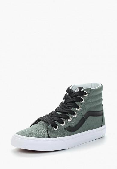 Купить Кеды Vans - цвет: зеленый, Швейцария, VA984AUAJYK7