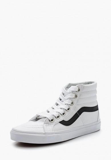 Кеды Vans - цвет: белый, Швейцария, VA984AUAJYK8  - купить со скидкой