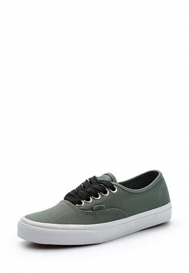 Купить Кеды Vans - цвет: зеленый Швейцария VA984AUAJYL0
