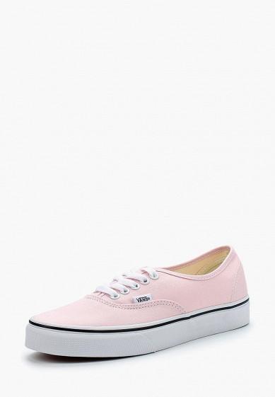 Кеды Vans - цвет: розовый, Вьетнам, VA984AUAJYM0  - купить со скидкой