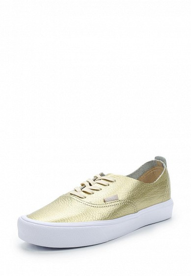 Купить Кеды Vans - цвет: золотой Швейцария VA984AUAJYM4