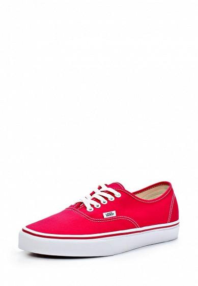 Купить Кеды Vans - цвет: красный, Вьетнам, VA984AUAVZ73