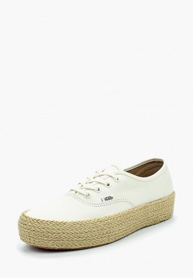 Купить Кеды Vans - цвет: белый, Китай, VA984AUBJQK9