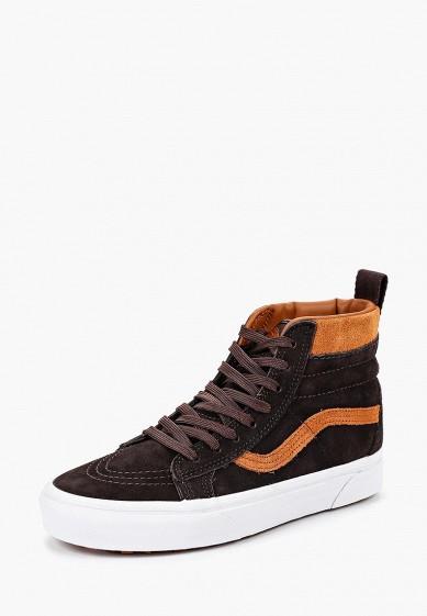 Купить Кеды Vans - цвет: коричневый, Вьетнам, VA984AUCAHI0