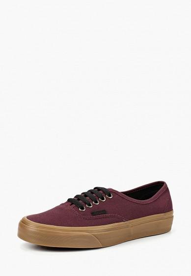 Купить Кеды Vans - цвет: бордовый, Камбоджа, VA984AUCAHI3
