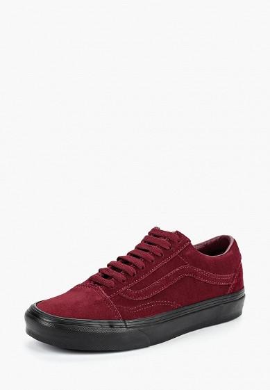 Купить Кеды Vans - цвет: бордовый, Камбоджа, VA984AUCAHK5