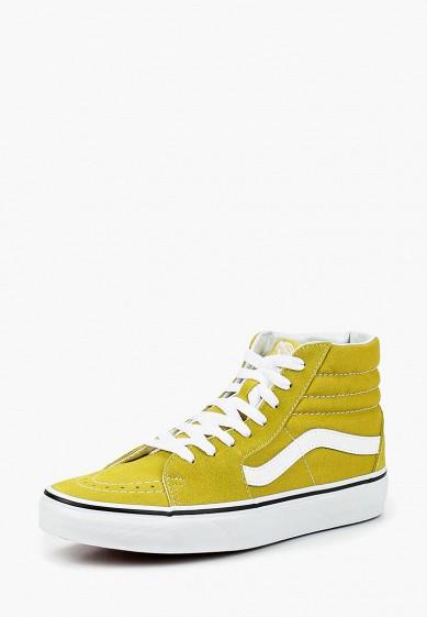 Купить Кеды Vans - цвет: желтый, Камбоджа, VA984AUCAHK6